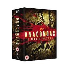 Anaconda 1 - 4 Anacondas Boxset 1 2 3 4 Region 2 New DVD (4 Discs)