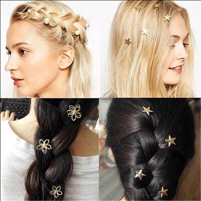 Fashion Women Metal Jewelry Star Hairpin Hair Clips Hair Accessories Barrettes