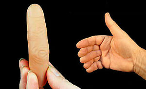 A002-Close-Up-Stage-Magic-Sixth-Finger-Thumb-Tip-Curved-Whole-Fake-Finger-x-1