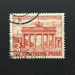 Timbre-BERLIN-Yvert-et-Tellier-n-45-Obl-Lot-B-Cyn37-Stamp