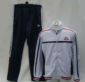 THE-ORIGINAL-LONSDALE-LONDON-MENS-WHITE-NAVY-BLUE-RED-TRACKSUIT-RRP-59-99-BNWT