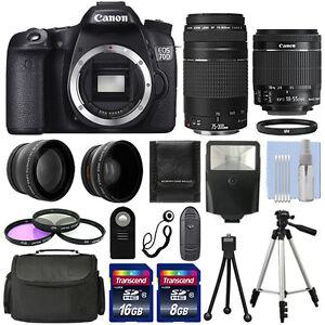 Canon-EOS-70D-SLR-Camera-4-Lens-Kit-18-55-STM-75-300-mm-24GB-TOP-VALUE-KIT