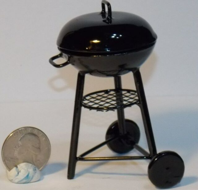 1//12 Scale Charcoal Grill Mini Toys