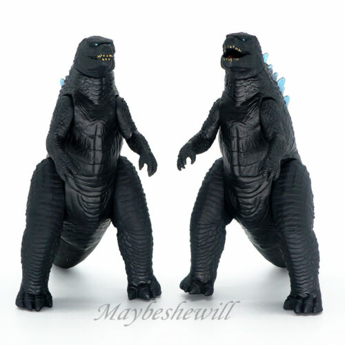 """2 PZ 2019 godzilla mostro re in PVC 6/"""" Play Toy Action Figure"""