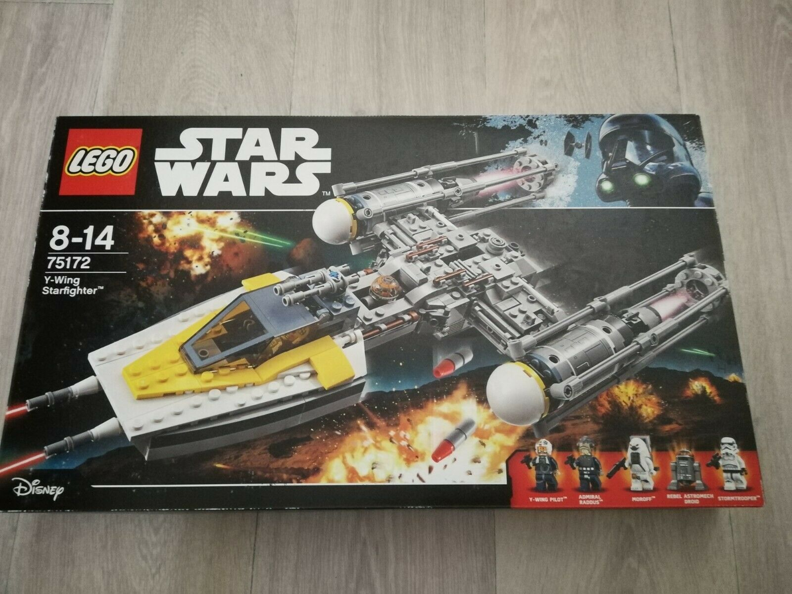 Lego Star Wars 75172 Y-wing Starfighter comme neuf
