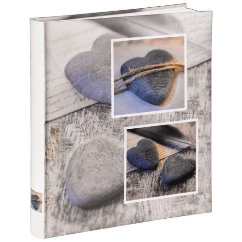 "Hama 31034 Buch-Album Fotoalbum /""Catania/"" 29x32cm 60 weiße Seiten"