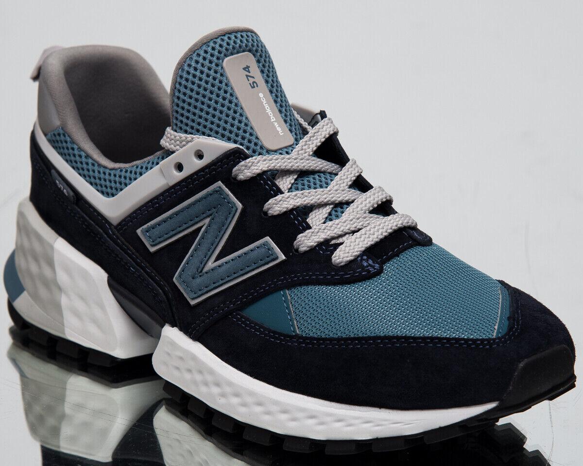 nouveau   574 Sport Homme Nouveau dukles Bleu Marine Loisirs Lifestyle paniers