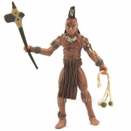 Movie Toy Indiana Jones Ugha Warrior Kingdom of the Crystal Skull Action Figure