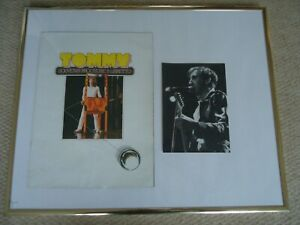 TOMMY-PROGRAMME-1979-THE-WHO-RARE-PETE-TOWNSHEND-PHOTO-IMAGE-1982-TWO-GEMS