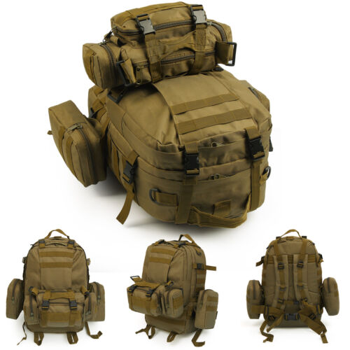 50L Tactical 3 Day Assault Military Rucksack //Army Backpack //Camping Hiking Bag