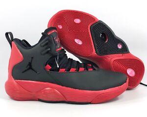 timeless design 7ead1 291e3 Details about Nike Air Jordan Super.Fly MVP Black Red AR0037-006 Men's 9
