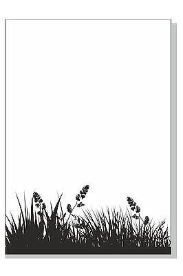 DIN A 4 20 Blatt Motivblock Motivpapier Briefblock Briefpapier
