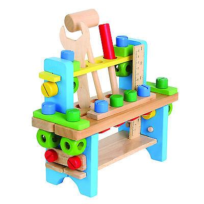Werkbank für Kinder aus Holz Werkzeugkiste Handwerkzeug | eBay