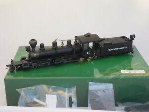 Bachmann-Spectrum-28760-0n30-TROCHA-Angosta-U-S-Locomotora-de-Vapor-2-6-6-2