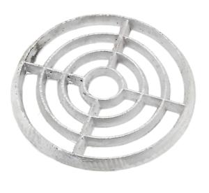 "Cast Alloy Aluminium Round Gully Grid Man Hole Grate Drain Cover 6/"" 7/"" 8/"""