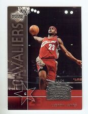 2003 04 UPPER DECK LEBRON JAMES RARE 1 DAY EVENT ROOKIE RC CARD NBA FINALS NTCD