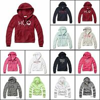 Hollister By Abercrombie&fitch Women's Hoodie Sweatshirt Logo Pullover Xs,s,m,l