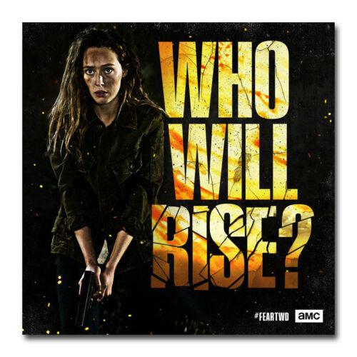 Fear the Walking Dead Season 4 Silk Poster 16x16 24x24 inch