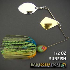 Bassdozer-spinnerbaits-ROYAL-OKLAHOMA-1-2-oz-F-SUNFISH-spinnerbait-spinner-bait