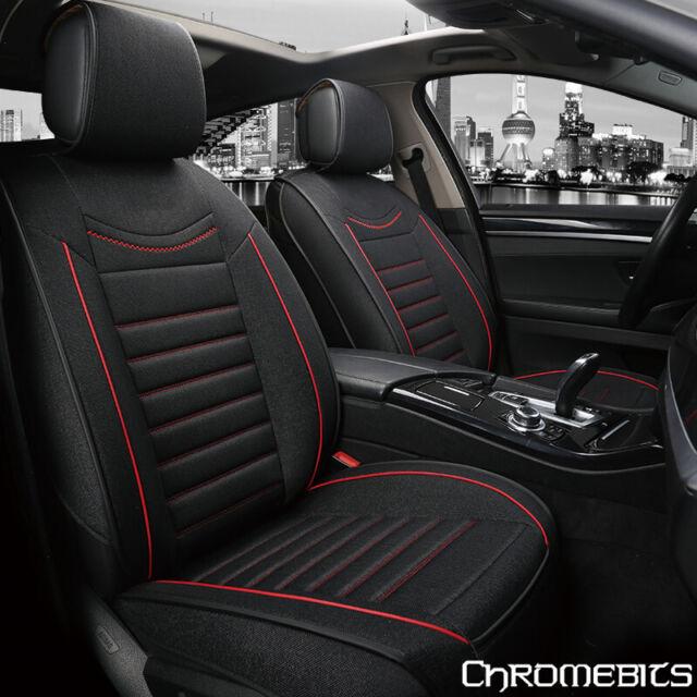 AUDI A5 SPORTBACK Heavy Duty Black Waterproof Car Seat Covers  Front Pair