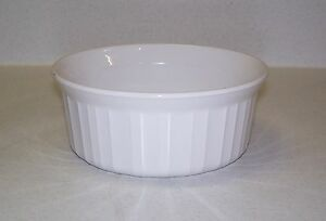 Corning-Ware-FRENCH-WHITE-16-Ounce-500-mL-Round-Casserole-Dish-Bowl-F-16-B