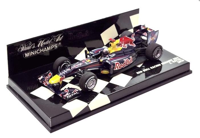 Red Bull Renault RB6 S.Vettel  GP 2010 world champion  410100005 Minichamps 1/43