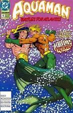 Aquaman #4 (March 1992) - Battles for Atlantis - Aquaman vs. Iqula of Tritonis