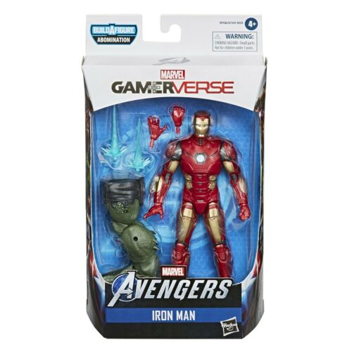 Marvel Legends Avengers gamerverse Wave 1 Abomination BAF Iron Man