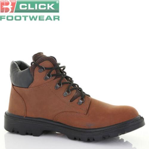 Cliquez sur dd sherpa DUAL DENSITY chukka cuir//caoutchouc mid cut boot steel toe cap semelle intermédiaire