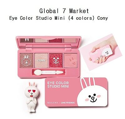 [Limited Edition] Missha X Line Friends Eye Color Studio Mini #1 Cony Daily Look
