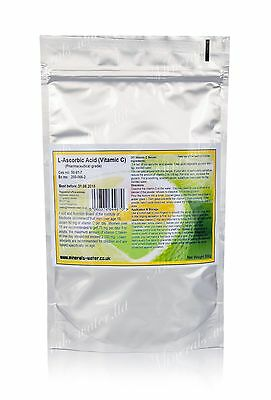 500g Ascorbic Acid powder•Vitamin C•Pharmaceutical grade•100% pure!•BP/USP/EP•
