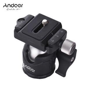 Andoer-360-Camera-Tripod-Ball-Head-w-QR-Plate-Bubble-Level-for-Canon-Nikon-DSLR