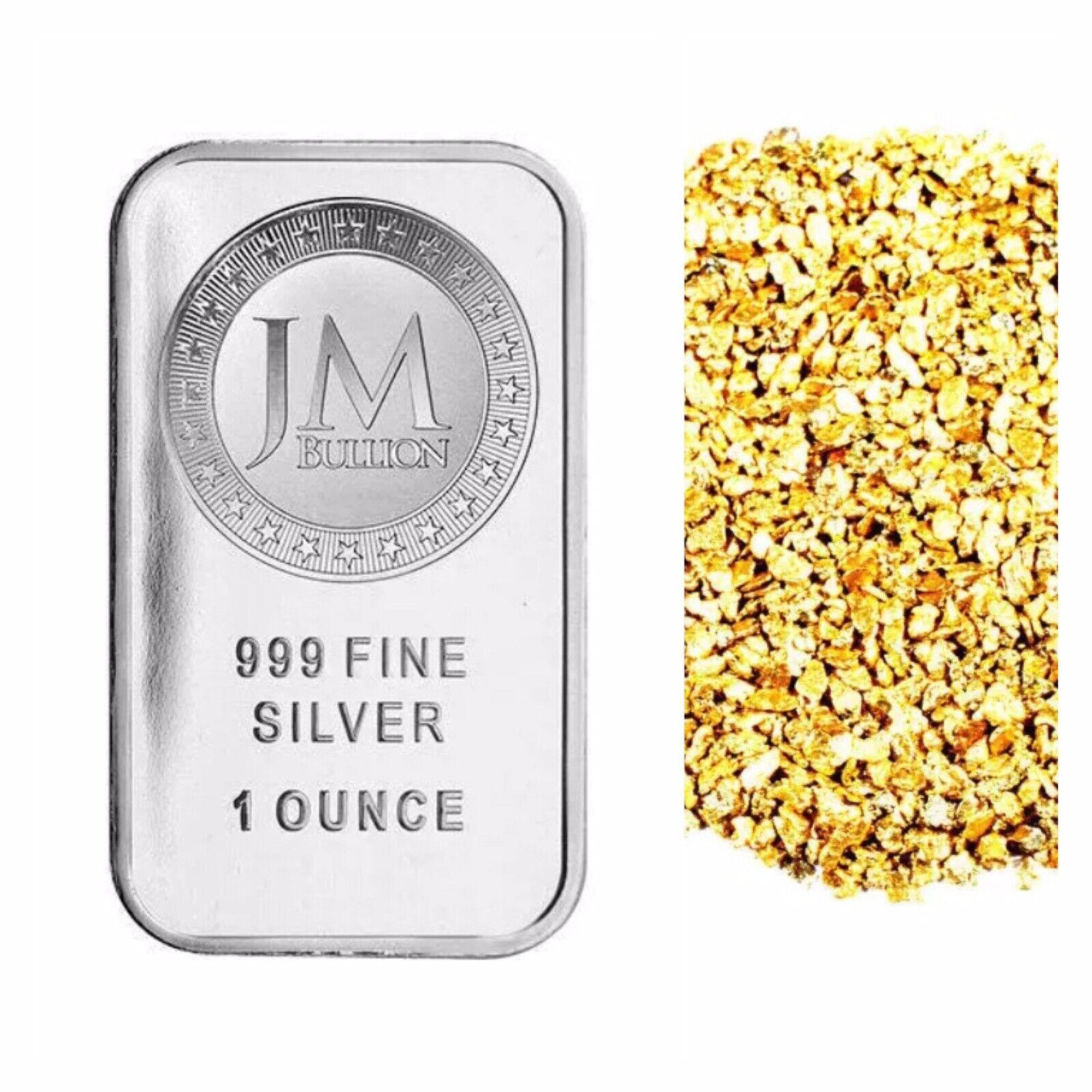 1 Troy Oz 999 Silver Jm Bullion Bar Bu