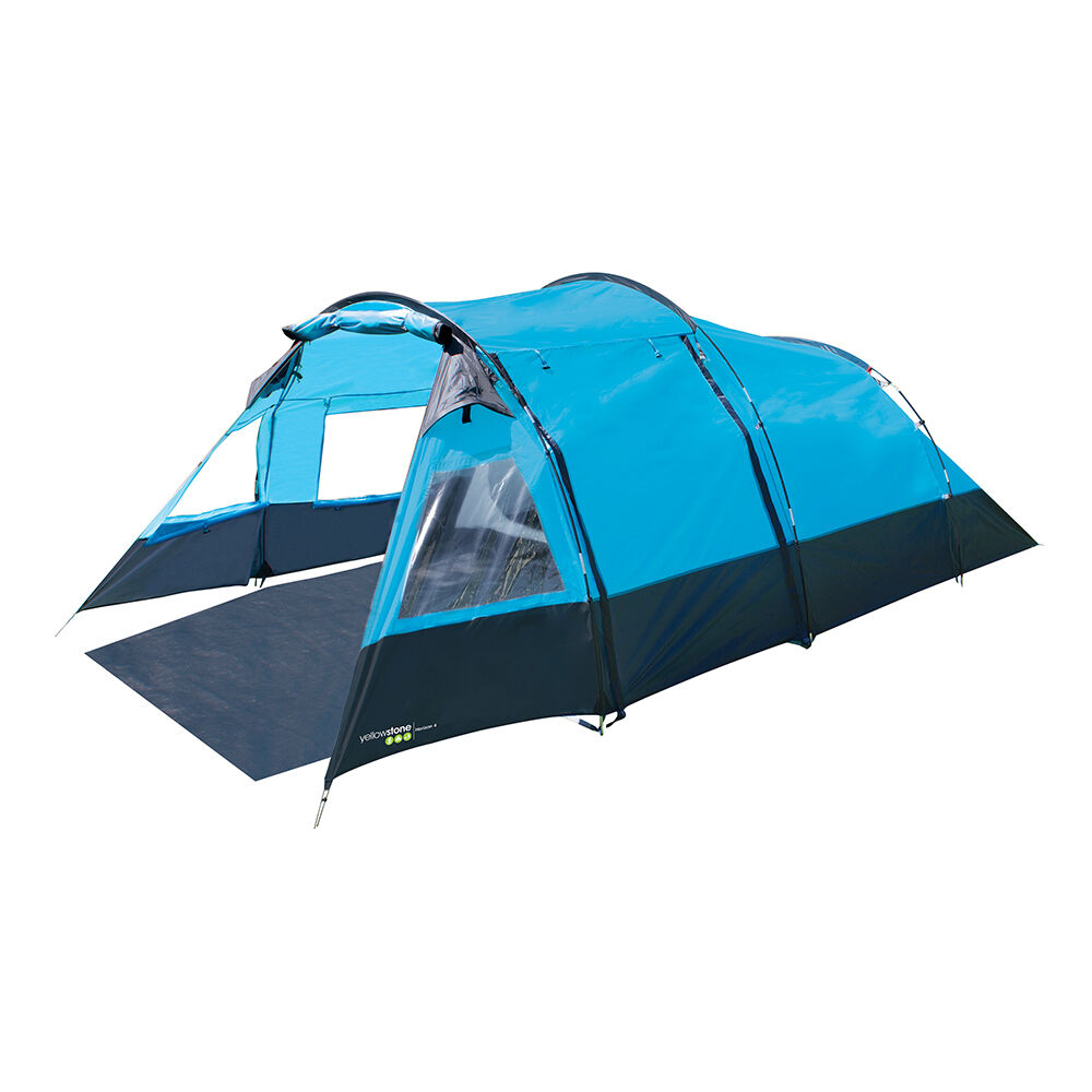 TENT HORIZON 4 PERSON CAMPING FAMILY BEACH FESTIVAL HIKING SHELTER MARQUEE CAMP