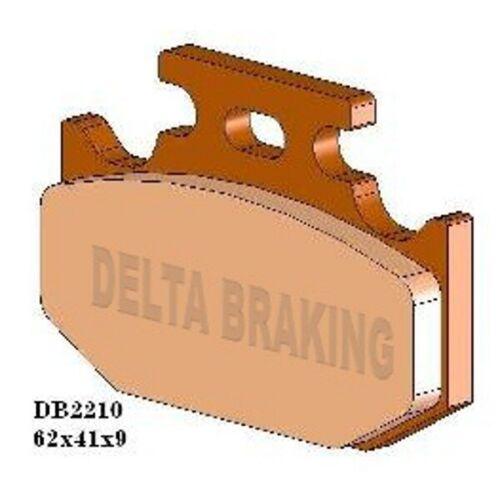 YAMAHA 125 DT RE 05-07 Delta MX-D Sintered Off Road Rear Brake Pads FA432