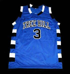 6530bc8c LUCAS SCOTT #3 ONE TREE HILL RAVENS BASKETBALL JERSEY QUALITY SEWN ...