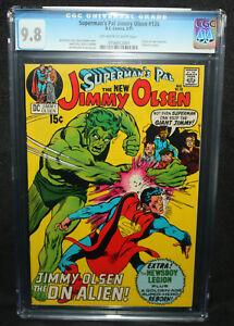 Superman's Pal Jimmy Olsen #136 - Origin of new Guardian  - CGC 9.8 - 1971