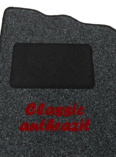 Tapices alfombra gamuza vw eos BJ 2006 hasta 2015 incl fijación 4481