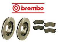 Ford Probe 93-97 Front Brake Rotors With Brake Pads Kit Brembo/advics on sale