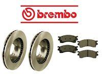 Ford Probe 93-97 Front Brake Rotors With Brake Pads Kit Brembo/advics on sale