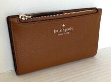 Kate Spade Small Jackson Slim Bifold Wallet Warm Gingerbread WLRU5472