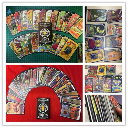 Hot JoJo/'s Bizarre Adventure Bruno Bucciarati Tarot Card 31 Pcs With Box Gifts