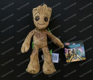 disney store plush guardians of the galaxy groot mini bean bag 8 1 2 nwt. Black Bedroom Furniture Sets. Home Design Ideas