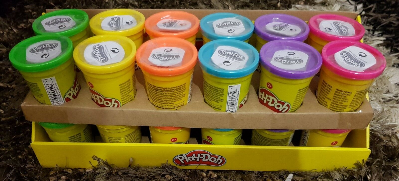 Case of 24 Play Doh 112g Single Can Modelling Compound Ages 2+