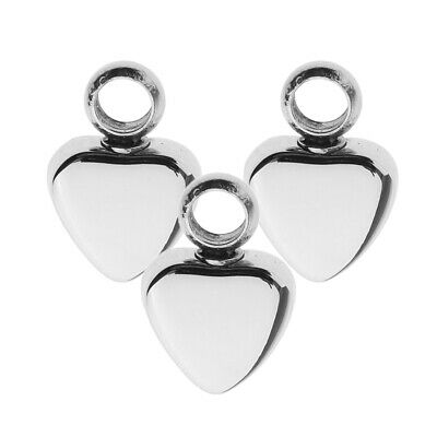 HAMANY Rose Flower Shape Stainless Steel Cremation Ashes Pendant Necklace with Filling Kit