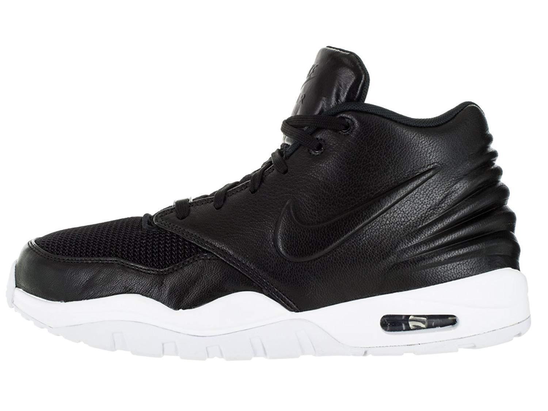 Nike Mens Air Entertrainer Black Leather Shoes