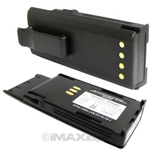 2 x HNN9049A HNN9050A HNN9051A Battery for MOTOROLA Radius P1225 LS Radio