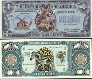 Lot of 2 notes featuring GIRAFFES 🌎🦒🦒 Fantasy Notes 🦒 Nice colors and design