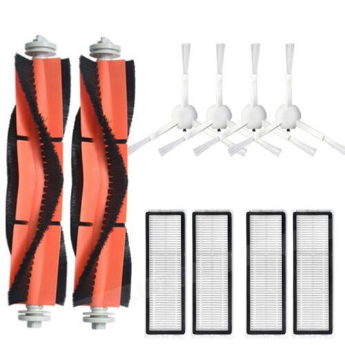 For Xiaomi Mijia 1C Sweeping Robot Vacuum Main Brush Side Brush Filter Mop Kit