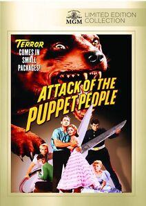 Attack Of The Puppet People DVD (1958) - John Agar, Boris Karloff, Bert Gordon